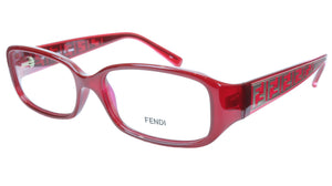 FENDI Eyeglasses Frame F983 (604) For Women Acetate Red Italy 53-15-130, 30