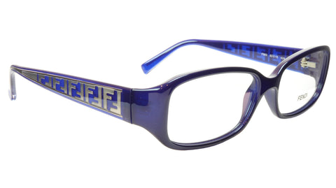 FENDI Eyeglasses Frame F983 (424) For Women Acetate Blue Italy 53-15-130, 30