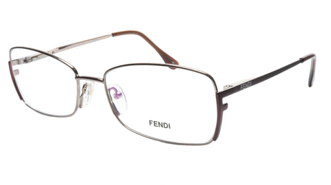 Image of FENDI Eyeglasses Frame F959 (770) Metal Light Bronze Italy Made 54-16-135, 34