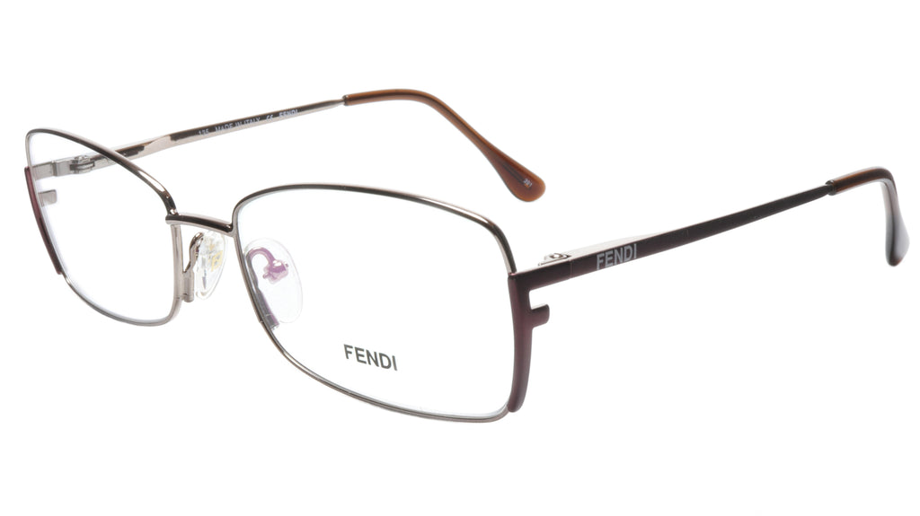 FENDI Eyeglasses Frame F959 (770) Metal Light Bronze Italy Made 54-16-135, 34