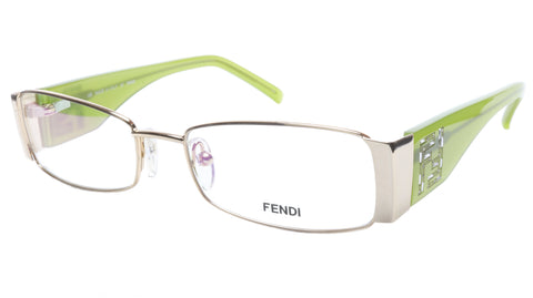 FENDI Eyeglasses Frame F923R (714) Metal Gold Light Green Italy 52-16-135, 28 - Frame Bay