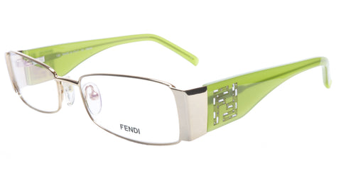 FENDI Eyeglasses Frame F923R (714) Metal Gold Light Green Italy 52-16-135, 28