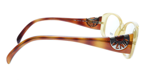 Image of FENDI Eyeglasses Frame F846 (832) Acetate Tangerine Italy Made 53-14-135, 36
