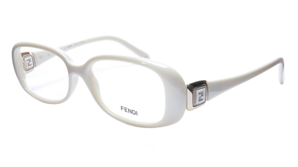 FENDI Eyeglasses Frame F900 (208) Women Acetate Cream Italy Made 52-15-135, 33 - Frame Bay