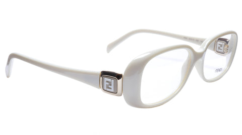 FENDI Eyeglasses Frame F900 (208) Women Acetate Cream Italy Made 52-15-135, 33