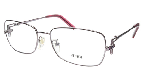 FENDI Eyeglasses Frame F682R (660) Women Metal Purple Italy Made 55-16-120, 35 - Frame Bay