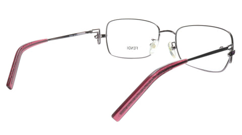 Image of FENDI Eyeglasses Frame F682R (660) Women Metal Purple Italy Made 55-16-120, 35