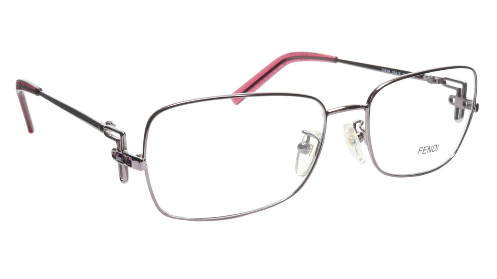 FENDI Eyeglasses Frame F682R (660) Women Metal Purple Italy Made 55-16-120, 35
