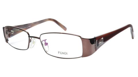 FENDI Eyeglasses Frame F892 (212) Metal Acetate Bronze Italy Made 52-17-135, 28 - Frame Bay