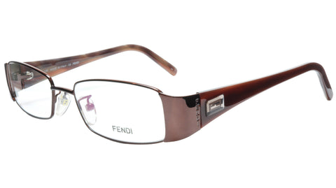 FENDI Eyeglasses Frame F892 (212) Metal Acetate Bronze Italy Made 52-17-135, 28