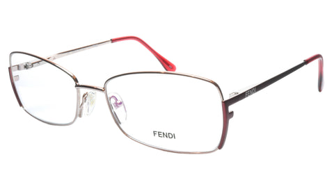 FENDI Eyeglasses Frame F959 (688) Metal Shiny Rose Italy Made 54-16-135, 33 - Frame Bay