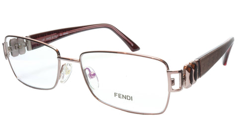 FENDI Eyeglasses Frame F883 (663) Metal Light Violet Italy Made 53-16-130, 33 - Frame Bay