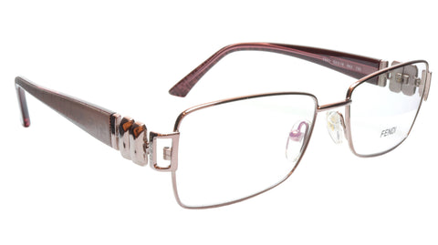 FENDI Eyeglasses Frame F883 (663) Metal Light Violet Italy Made 53-16-130, 33