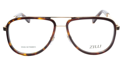 Image of ZILLI Eyeglasses Frame Titanium Acetate Gold Scale France Made ZI60020 C02 087