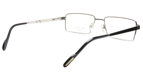 Image of Paul Vosheront Eyeglasses Frame PV323 C2 Gold Plated Wood Italy 57-17-145 32