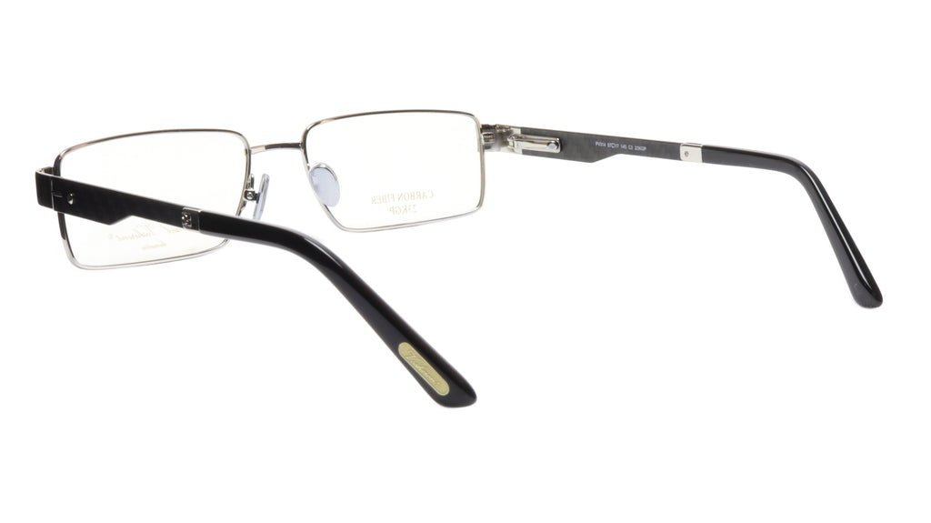 Paul Vosheront Eyeglasses Frame PV314 C2 Gold Plated Carbon Italy 57-17-145 31