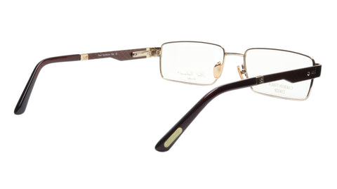 Image of Paul Vosheront Eyeglasses Frame PV314 C1 Gold Plated Carbon Italy 57-17-145 31