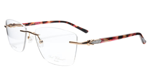 Image of Paul Vosheront Eyeglasses Frame PV502 C02 Gold Plated Acetate Italy 54-17-135 37