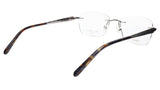 Paul Vosheront Eyeglasses Frame PV503 C02 Gold Plated Acetate Italy 52-17-135 36 - Frame Bay