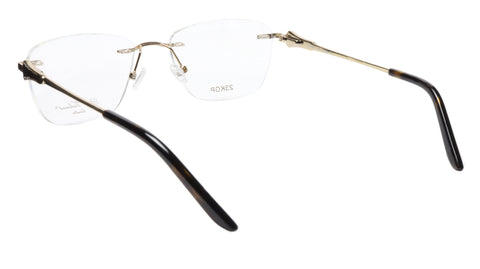 Image of Paul Vosheront Eyeglasses Frame PV501 C01 Gold Plated Acetate Italy 52-18-135 37