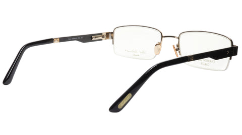 Image of Paul Vosheront Eyeglasses Frame PV374 C1 Gold Plated Acetate Italy 56-20-145 33