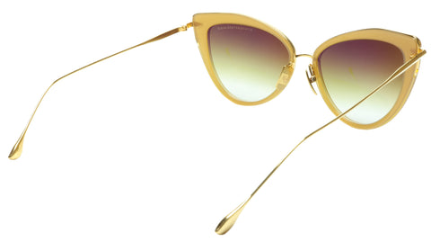 Image of DITA Heartbreaker Sunglasses 22027 C BRN GLD Titanium Acetate Japan 56-17-145 43