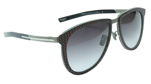 Aston Martin Racing Sunglasses AMR75002 03 Titanium Carbon Italy 57-18-145 46