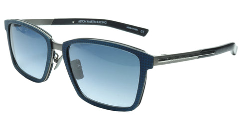 Image of Aston Martin Racing Sunglasses AMR75010 02 Titanium Carbon Italy 55-18-145 38