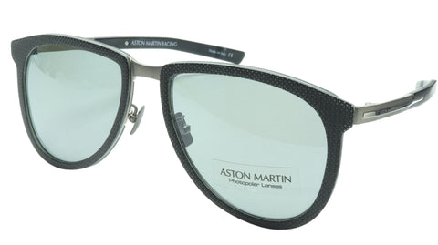 Aston Martin Racing Sunglasses AMR75002 01 Titanium Carbon Italy 57-18-145 46 - Frame Bay
