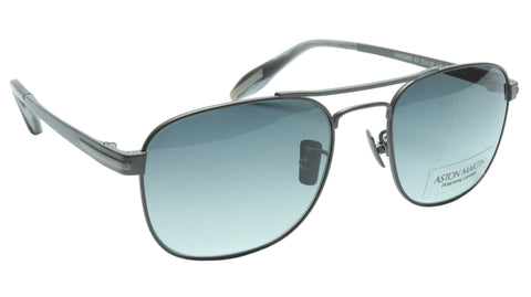 Aston Martin Sunglasses AM50009 03 Titanium Polarized Italy Made 53-20-140 42
