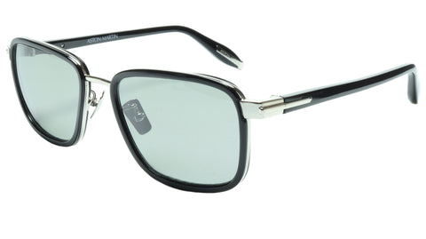 Image of Aston Martin Sunglasses AM50017 05 Titanium Acetate Polarized Italy 54-18-145 39