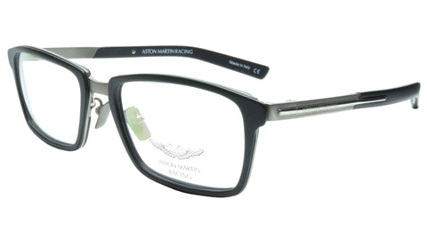 Image of Aston Martin Racing Eyeglasses AMR01001 03 Titanium Acetate Italy 55-18-145 35