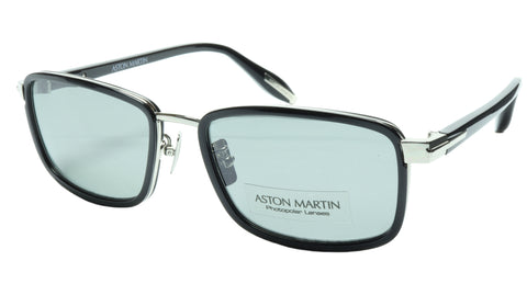 Aston Martin Sunglasses AM50016 05 Titanium Acetate Polarized Italy 56-18-145 37