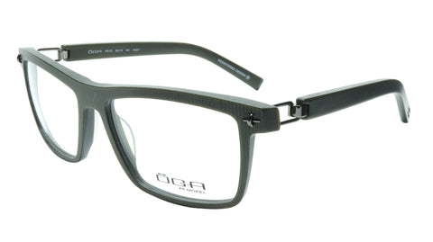 OGA Morel Eyeglasses Frame 7951O VG031 Acetate Dark Green France 56-16-130, 38