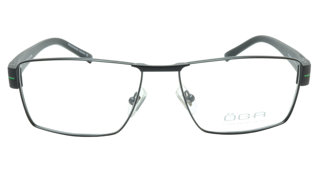 OGA Morel Eyeglasses Frame 7921O NN040 Metal Acetate Green France 57-16-140, 36
