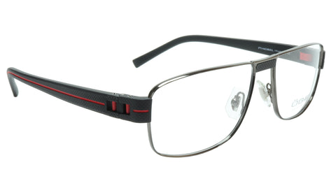 Image of OGA Morel Eyeglasses Frame 7918O GN021 Metal Acetate Red France 55-16-135, 37