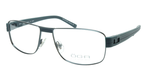 OGA Morel Eyeglasses Frame 7918O BB022 Metal Acetate Dark France 55-16-135, 37 - Frame Bay