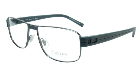 OGA Morel Eyeglasses Frame 7918O BB022 Metal Acetate Dark France 55-16-135, 37