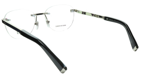 ZILLI Eyeglasses Frame Titanium Acetate Silver Blue France Made ZI 60035 C08 100