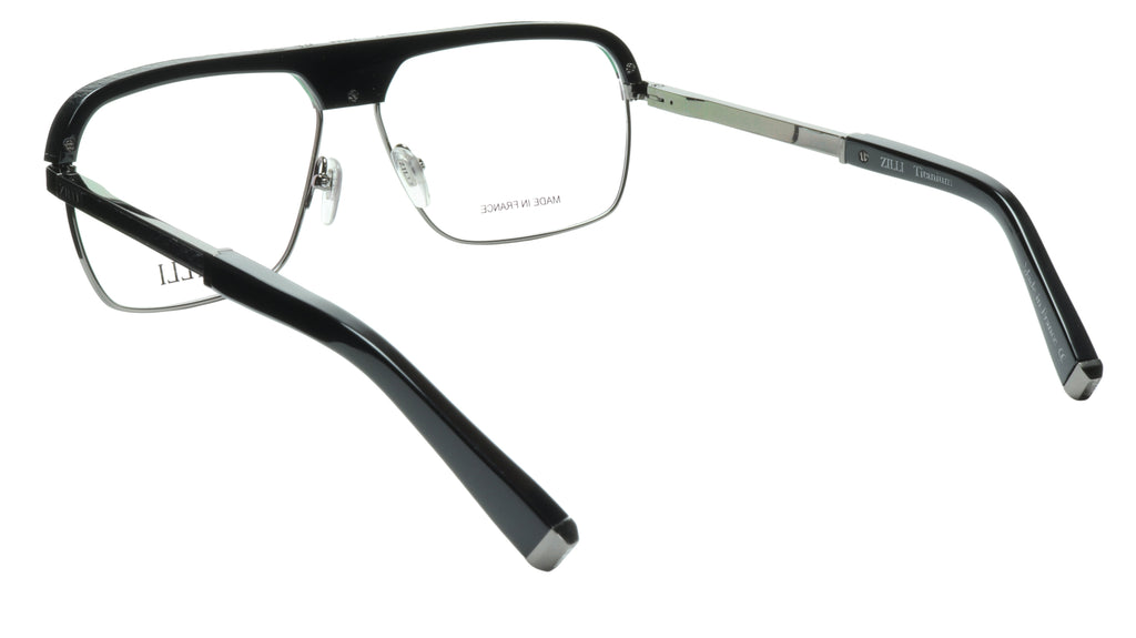 ZILLI Eyeglasses Frame Titanium Acetate Gunmetal France Made ZI 60033 C05 109