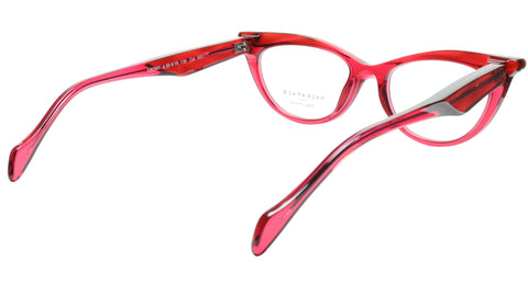 Face A Face Eyeglasses Frame Ebony 4 3031 Acetate Rouge Cateye 50-16-135 31