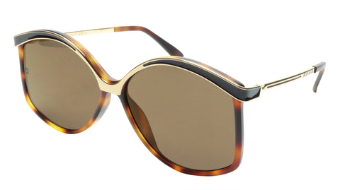 Ellie Saab Sunglasses ES 023/G/S N9P03 Acetate Metal Italy Made 61-14-140 - Frame Bay
