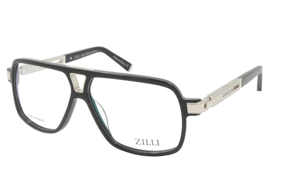 ZILLI Eyeglasses Frame Titanium Acetate France Made ZI 60048 C02