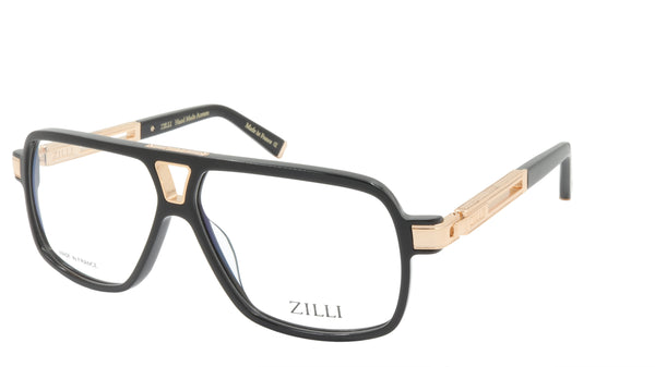 ZILLI Eyeglasses Frame Titanium Acetate France Made ZI 60048 C01