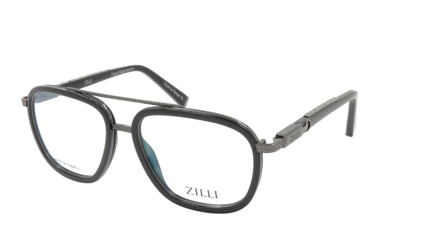 ZILLI Eyeglasses Frame Titanium Acetate France Made ZI 60016 C02
