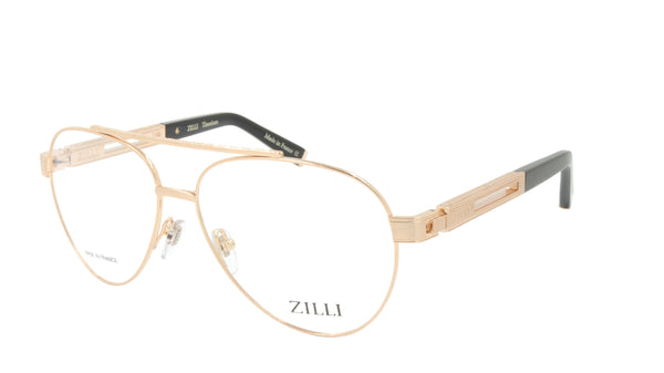 ZILLI Eyeglasses Frame Titanium Acetate France Made ZI 60006 C01