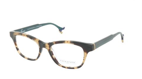 Face A Face Eyeglasses Frame BOCCA HIT 2 Col. 1148 Acetate Brown Camouflage