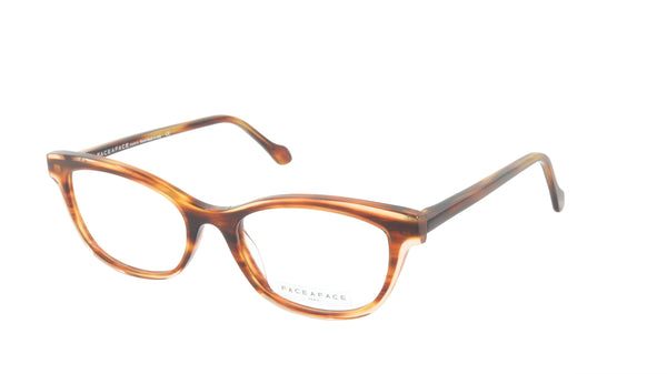 Face A Face Eyeglasses Frame MISHA 2 Col. 167 Acetate Brown Horn Glossy Beige