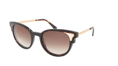 Face A Face Sunglasses Frame STATE 1 Col. 2150 Acetate Metal Dark Tortoise Peach
