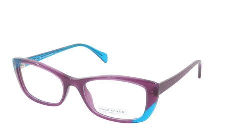 Face A Face Eyeglasses Frame WINDS 2 Col. 001 Acetate Dark Plum